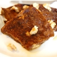 至福の朝食、メープル・モカ・フレンチトースト