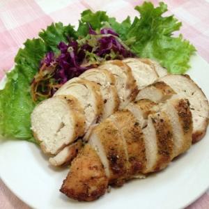 鶏むね肉deクレソルオーブン焼き♪