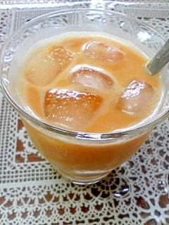 アイス☆マンゴーきなこミルク♪