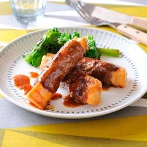 シャキシャキ旬菜 タケノコの牛肉巻き