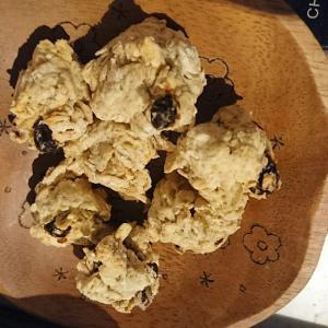 コストコパンケーキミックスとオートミールのクッキー