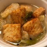 厚揚げと白菜のくたくた煮