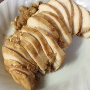 デミグラ風鶏ハム
