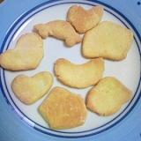 ホットケーキミックスと卵だけでクッキー(^^)