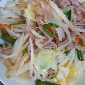 シンプル♪肉野菜炒め