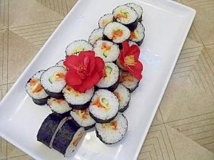 クリスマスツリーBY太巻き寿司