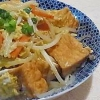 沖縄料理をヘルシーに♪「豆腐チャンプルー」