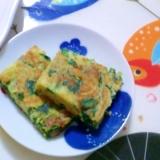 ニラたま餅