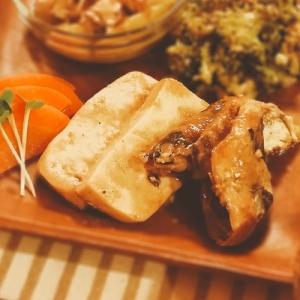 秋刀魚と豆腐の味噌煮【240kcal脂質13g】