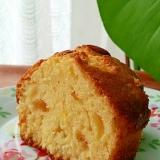 ココナッツオイル&ゆず茶のパウンドケーキ