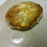 液みそとクリームチーズの小判焼き