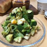 ブロッコリーとアボカドのデリ風サラダ