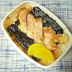 ジューシー☆鷄天ぷら海苔弁当☆