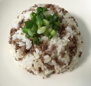 挽き肉☆チャーハン