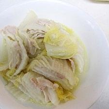 バターGood!洋風白菜と豚肉の煮込み
