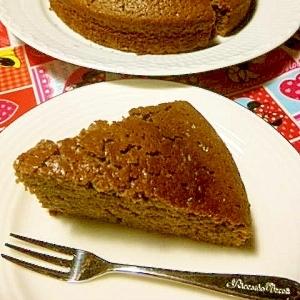 HMで簡単★チョコレートケーキ