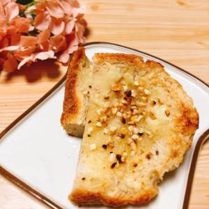 アーモンド練乳トースト