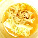 牛肉とキムチと豆腐のチゲ