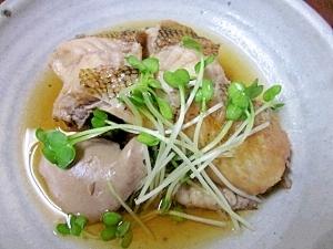 北海道の希少魚「柳の舞」☆ 煮付けが絶品