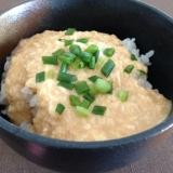 自然薯でとろとろ☆味噌風味のとろろご飯