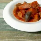 トマト缶で簡単♪色々野菜のラタトゥイユ☆★