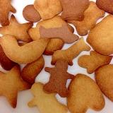 2つだけで簡単型抜きクッキー
