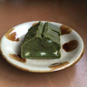 米粉抹茶ケーキ