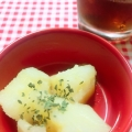 レンジで簡単に粉ふき芋