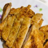 簡単!カレー味の豚肉焼き