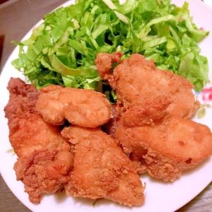 サクサク蕎麦粉の、噛めば薫る鶏むね肉竜田揚げ