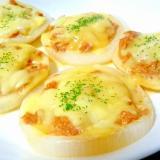 とろ~りおいしい☆新玉ねぎのツナマヨチーズ焼き