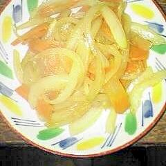 ニンニク&生姜で野菜炒めです♪