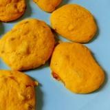 卵なしかぼちゃとレーズンのしっとりクッキー