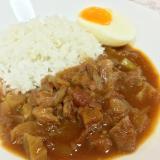 牛すじ肉のカレーハヤシライス(スロークッカー使用)