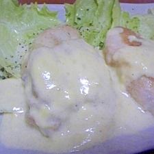 ふっくら♪ 鶏ムネ肉のチーズ焼き