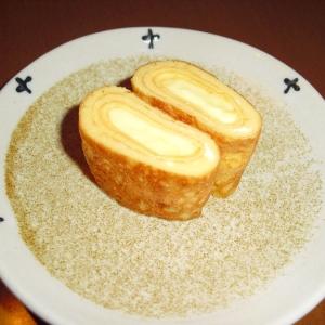 """お弁当用♪我が家の""""チーズ入り卵焼き"""""""