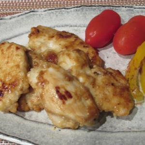鶏むね肉の柚子胡椒焼き