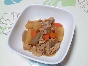 豚ばら根菜煮++