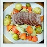 肉と冬野菜の煮込み