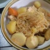 ズボラ!!簡単!!ジャガイモと里芋の煮物