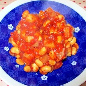 栄養たっぷりの大豆の煮物