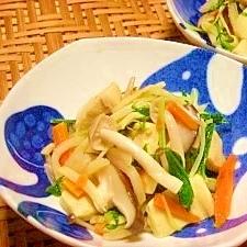 水菜の冷や汁