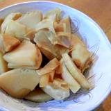 竹の子の煮物