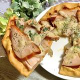 大豆粉ピザ