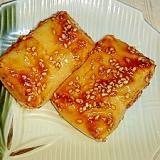 フライパンで☆簡単切り餅五平餅