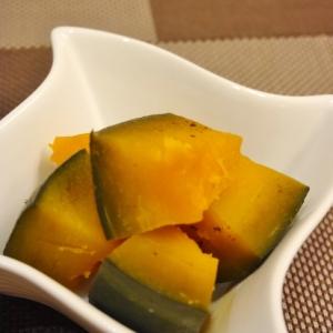 めんつゆでレンチン★かぼちゃの煮物