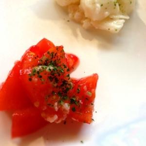 塩麹和え二種★トマトと長芋