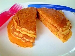 有名パンケーキ店のレシピで作る♪にんじんパンケーキ