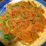 野菜たっぷり☆春雨の和え物☆チャプチェ風