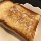 サクふわ!フライパンで作るバターシュガートースト